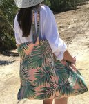 Beach bag palm