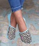 Sneaker sock leopard
