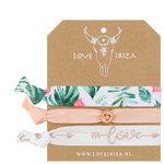 White Peach Ibiza elastiekjes