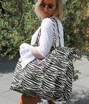 Beach bag zebra