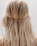 Suede choker natural