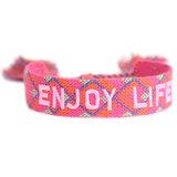 Woven bracelet Enjoy Life