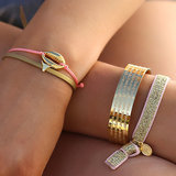 Armband coral gold shell_