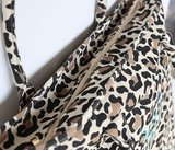 Beach bag leopard