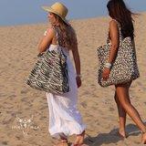 Beach bag leopard