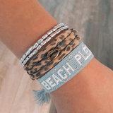 Woven bracelet Beach please Love Ibiza