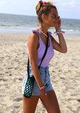 Bottle bag black Love Ibiza