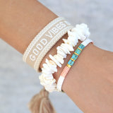 Oyster pastel armband_