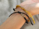 Buddhist bracelet black