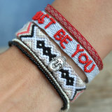 Armband Aztec red_