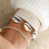 Armband gold silver shell_