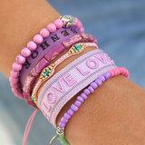 Armband miyuki Ibiza pink_