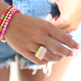 Ring candy love green_
