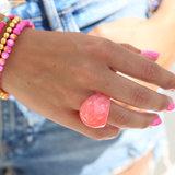 Ring globe coral_