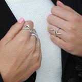 Ring pattern zilver_