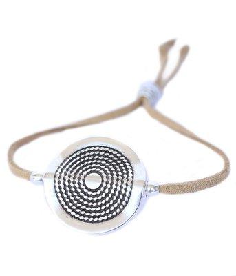 Armband Mandala naturel