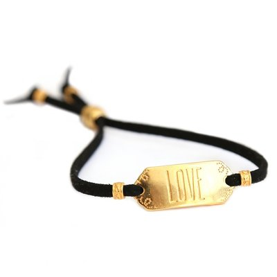 Armband LOVE gold limited edition