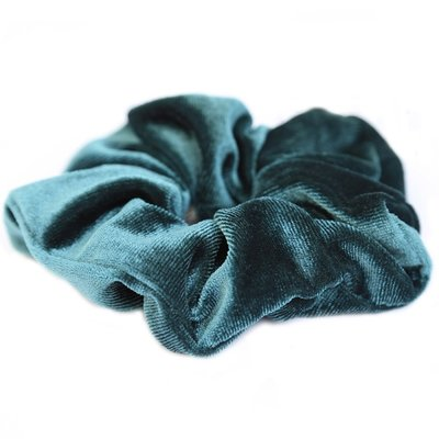 Velvet scrunchie Emerald