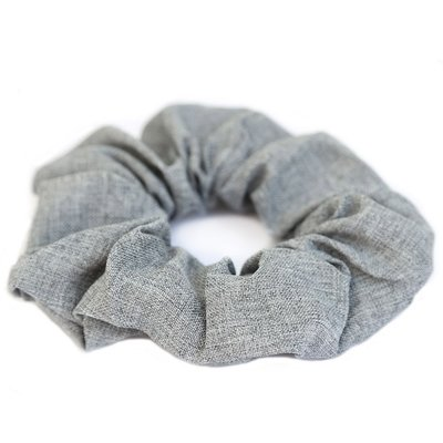 Cotton scrunchie Grey