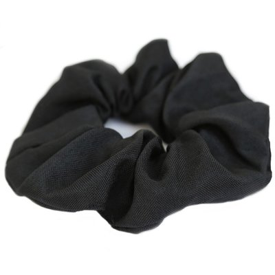 Cotton scrunchie Black