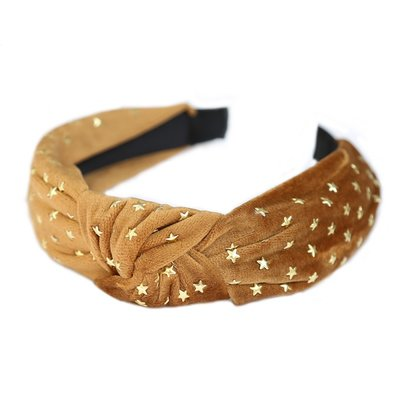 Haarband Gold star