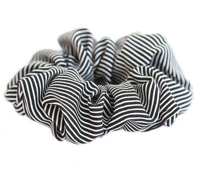 Scrunchie stripe black