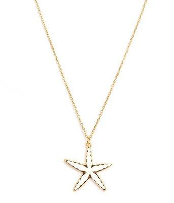 Ketting Starfish gold
