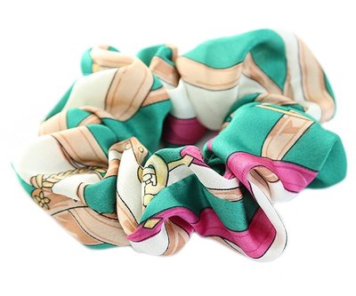 Scrunchie Baroque green
