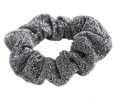 Scrunchie Glitz black