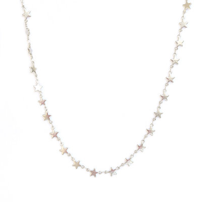 Ketting Sky full of stars silver