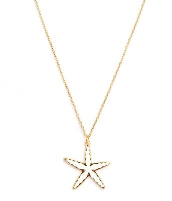 Ketting Starfish gold