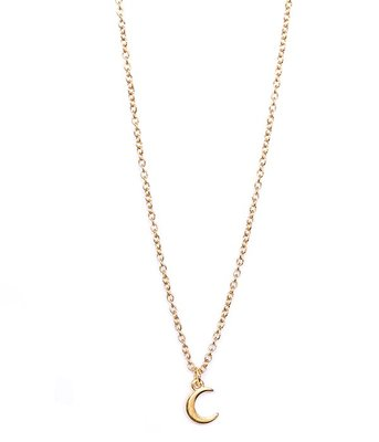 Ketting Moon gold