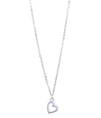 Ketting Heart silver