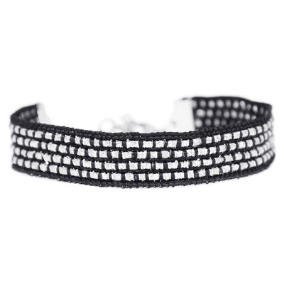 Armband silver sparkle