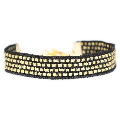 Armband gold sparkle