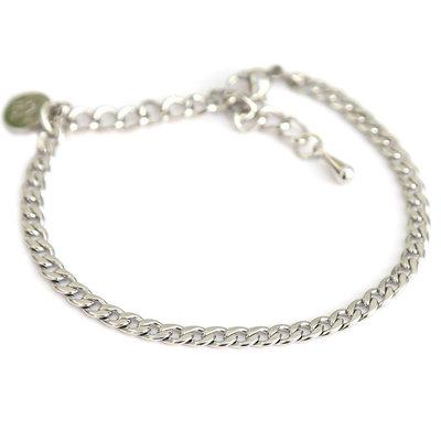 Armband fine Chain silver