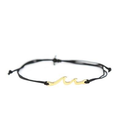 Armband Waves black gold