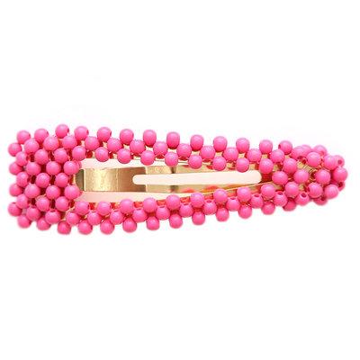 Haarclip bubble pink