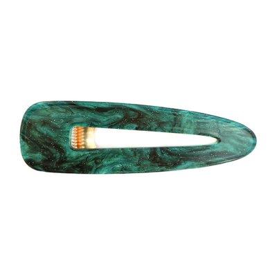 Statement haarclip - Emerald