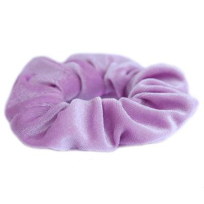 Velvet scrunchie lila