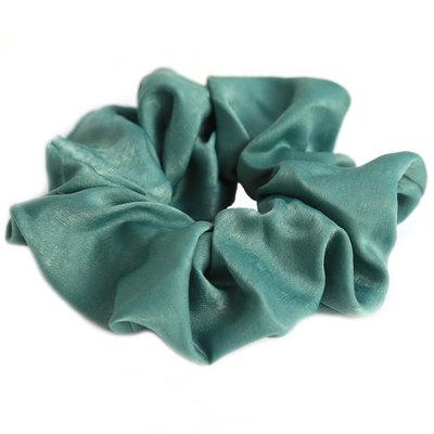 Scrunchie zijde green