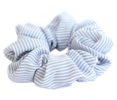 Scrunchie stripe blue