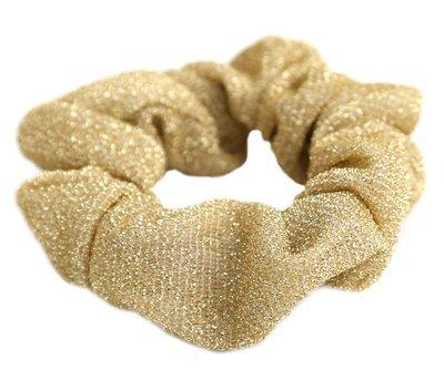 Scrunchie Glitz goud