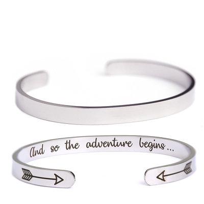 Stainless steel bracelet Adventure