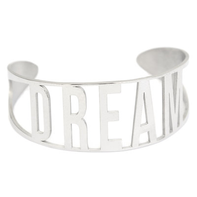 Dream armband silver