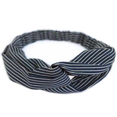 Haarband Stripe black