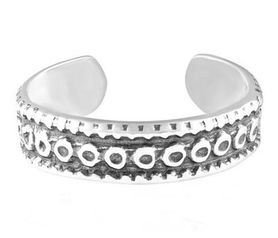 Midi pink ring Mantra (echt zilver)
