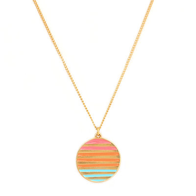 Necklace sunset