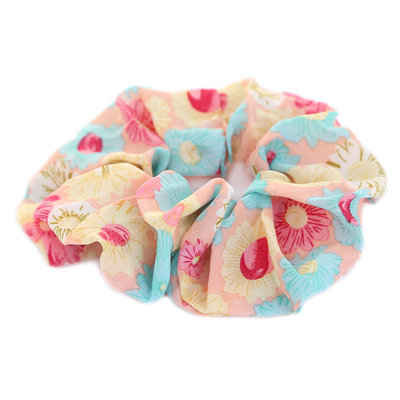 Scrunchie flowers