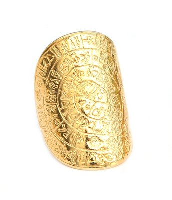 Ring - Hieroglief gold
